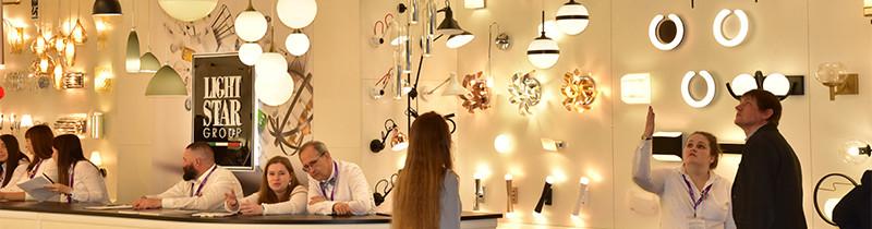 Lightstar Group на юбилейной выставке Interlight Russia 2019