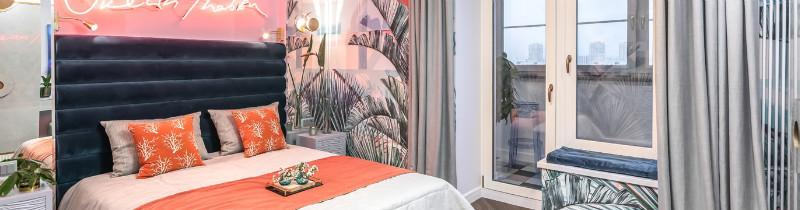 Продукция Lightstar осветила романтичную спальню в «Квартирном вопросе»