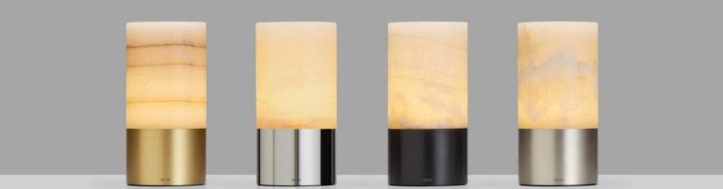 Аккумуляторный светильник из алебастра от Арнольда Чана