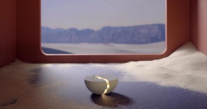 В духе японского искусства: световая колонка Teno в виде разбитой чаши