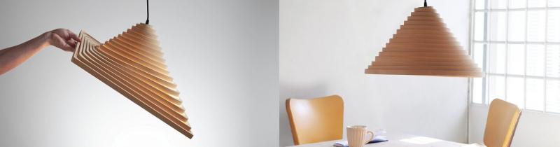 Светильник Espinel: оригинальный дизайн и забота об окружающей среде