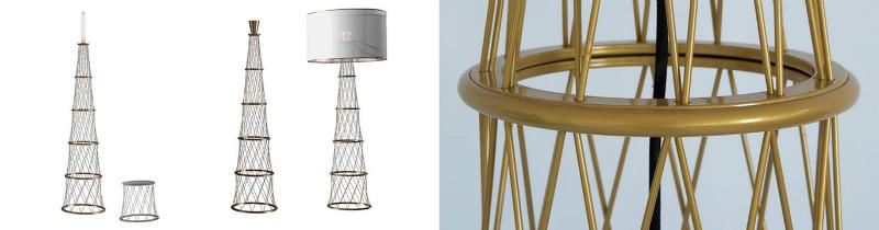 Шуховская башня стала источником вдохновения во время создания светильника