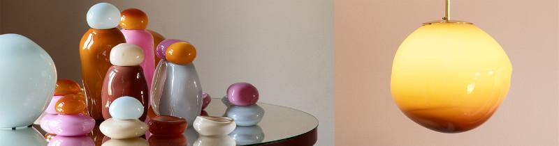Конфетная коллекция светильников от Хелле Мардаль