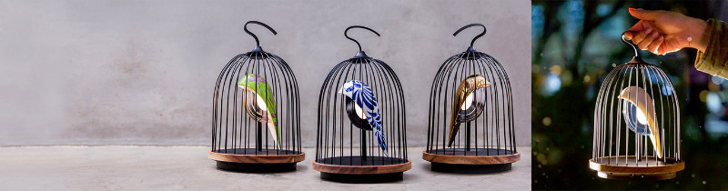 Как птица в клетке: музыкальный светильник JinGoo