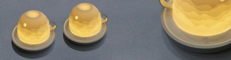 Свет в сервизе вместе с Lighting Cup