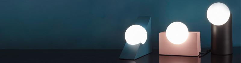 Геометрические светильники от Milligram Studio
