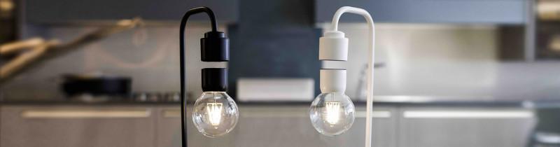 Левитирующая лампа от итальянских дизайнеров