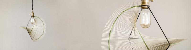 Плетенные светильники от тайваньских дизайнеров