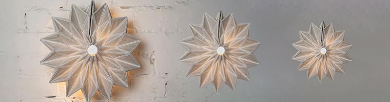 Conductive origami: светильники-гармошки