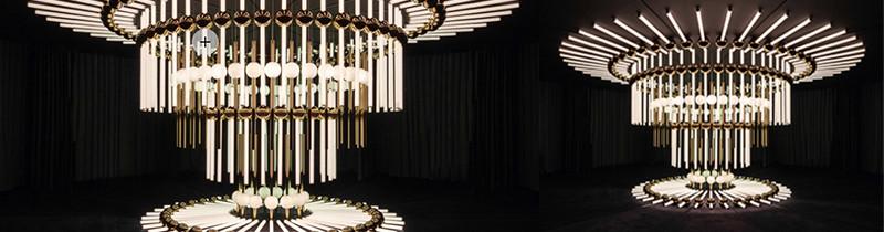 Калейдоскоп из светильников на London Design Week