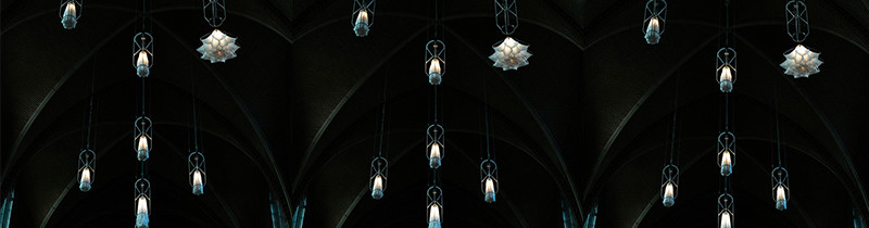 Цветение света под сводами монастыря