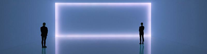 Свет рисует горизонты в инсталляции Доуга Уилера
