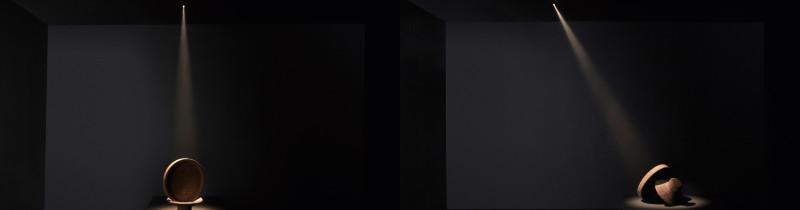 Дин Скира создал невидимый светильник