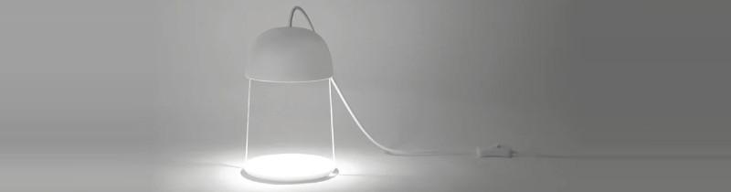 Лампа Ilsangisang: прозрачный дизайн и иллюзия парения