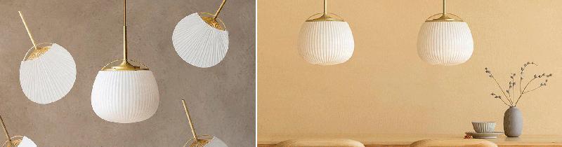 Светильники в форме веера от китайского дизайнера