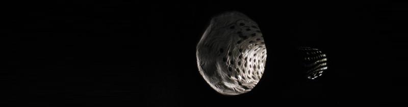 Светильник Bolla: бетон и пузырчатая пленка