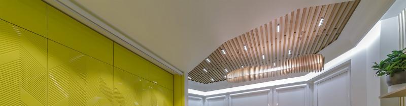 Светодиодная лента в функциональной кухне-мастерской «Квартирного вопроса»